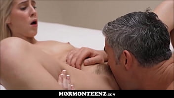 Cute Mormon Girl Banged With Orgasm By Prez While Boy Watches