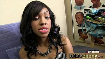 Group Interracial Ebonny Bukkake 2: Beauty Ebonny Anal ...