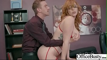 (Lauren Phillips) Hot Girl With Big Boobs Love Intercorse In Office movie-16