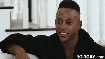Heterosexual black dude fucked in the ass by horny gay escort - interracial bbc