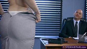 New girl in the office named Lauren Phillips satisfies boss