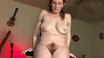 Hairy Mom Dirty Talking Solo Masturbation and Orgasm - thelebowskis