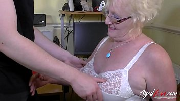 Hot mature lady got seduced stripped and fucked