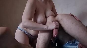 AlekskseNy - all cumshot 2021 big tits big dick handjob blowjob anal sex