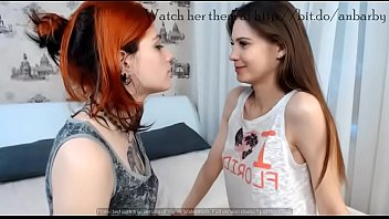 Super sexy lesbians play on bed