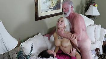 Sandra Luberc Blonde Big Tits Double Penetration Spit Roast Oral