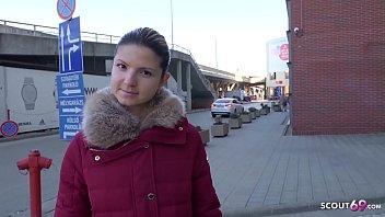 GERMAN SCOUT - 18 Jahre Gina Gerson richtig hart ohne