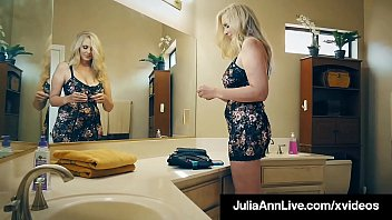 Muff Fucked Milf Julia Ann sucks & fucks a lucky fan's horny stiff dick, giving him the fuck of his life before he jets his jizz on her big tits ! Full Video & Julia Live @ JuliaAnnLive.com!