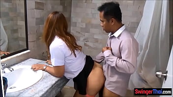 Thai amateur chicks are ready to party and have group sex