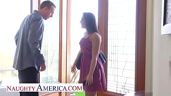 Naughty America - Mischa Brooks is ready to have her sweet pussy fucked by her sugar daddy