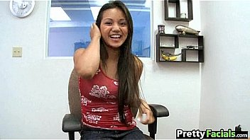Hot asian fuck and facial  Lana Violet 1 1.1
