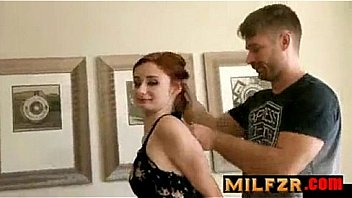 Step-Daddy does Ass to Mouth with his Step-Daughter Violet Monroe