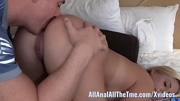 Shy babe loves to have ass licked!