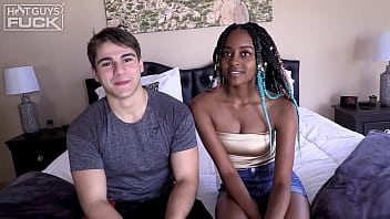 Hot 18 Y/O Muscle Teen Fucks Ebony Princess Hard!