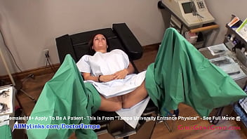 Latina Angel Oaks Gets Full New Student Physical Which is Caught On Hidden Cameras As Dr Tampa Examines Her On GirlsGoneGyno.com Join For Full Video