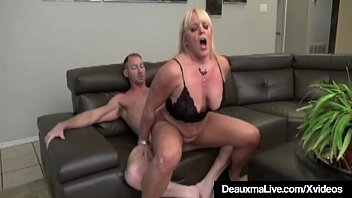 Busty Older Ladies Deauxma & Alexis Golden switch between 2 big white & black cocks as both these mature cougars get nailed in their experienced pussies in this hot fuck fest foursome!