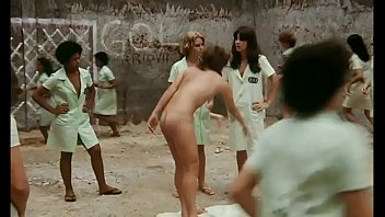 Totally nude female prisoners throughout this move.  Lots of softcore and includes a few hardcore scenes.  Dildo razor and dick in pussy, unsimulated sex, pussy eating and dick sucking.  Bare Behind Bars
