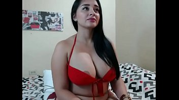 Hot booby girl on cam
