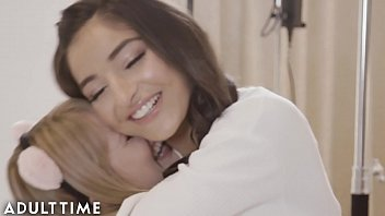 Teen Lesbian Pornstars Fuck Each Other for First Time