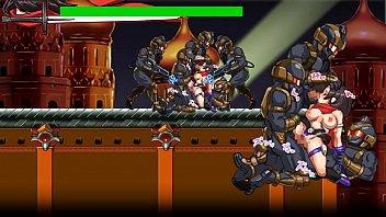 Scrider Asuka - hentai action game stage 1
