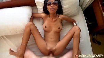 super small Cambodian girl fucked relentlessly hard