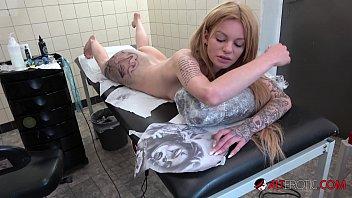 German Tattooed Model JayJay Ink Getting More Tattoos