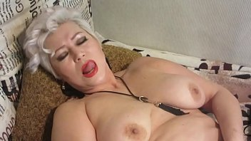 Lustful mature bitch fucks herself with a big dildo and poses in handcuffs ...))  Selected close-ups! )) Very sincere orgasm of a mature whore!  Extremely fucking slut-wife!