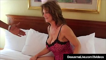 Big Boobed Mom Deauxma Gets Filmed Fucking Her Big Black Cock Fan That Almost Splits Her In Two As He Rams Her Cougar Cunt In Her Hotel Room thumbnail