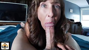 Sexy Milf Marie Sucks Cock So WELL