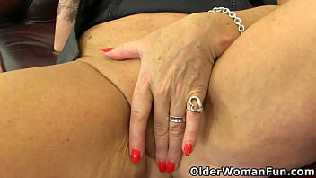 British gilf Camilla is showing off her suckable big tits and humpable old pussy (now available in Full HD 1080P). Bonus video: English gilf Christina X.