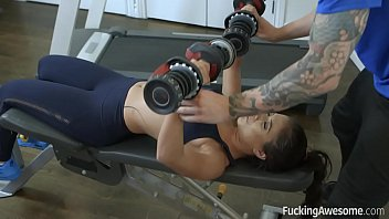 Big Ass Jynx Maze Wants Her Trainer's Big Cock