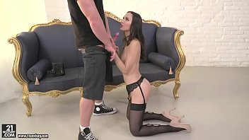 Lingerie model assfucked after shooting - Lilu Moon and Chad Rockwell