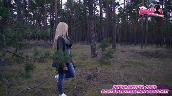 Ex Freundin anal im Wald POV - german girlfriend teen anal outdoor a2m