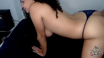 My cousin does not wait for me to remove her thong to fuck her  and asks me to full her buttocks  of cum 1/3. Diana Marquez- Instagram: 2001xperience