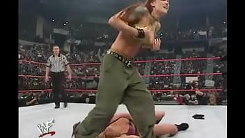 WWE Diva Trish Stratus Strippet...