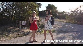 Teen cam girl fucked by best friends dad   DaughterLust.com