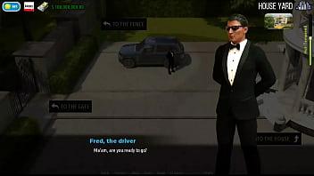 3 - Fashion Business - Boss orders the job seeker posing in underwear