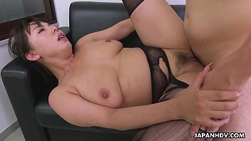 Slutty secretary with big, natural tits and soaking wet pussy, Ryouko Murakami sucked many dicks the other day, while she was still at work, and got fucked from the back, harder than ever before.