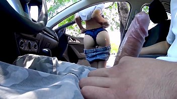 NICHE PARADE - Amateurs Sucking Dick In Car For Money Captured On Hidden Camera