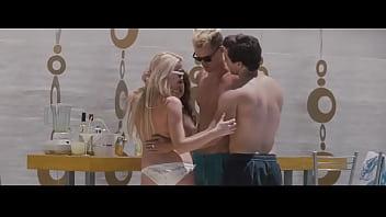 Amber Heard Nude Topless & Valentina Garcia Nude in The Informers
