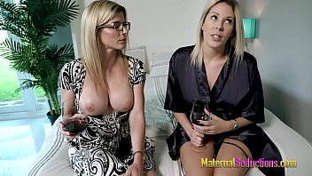 Threesome with My Mom and Teacher - Nikki Brooks