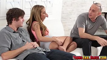 Slutty teen Kat Dior cheating...