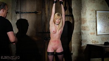Lusty blonde is punished in...