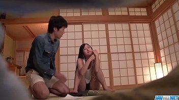 Hot japan girl Suzu Ichinose in group blowjob scene