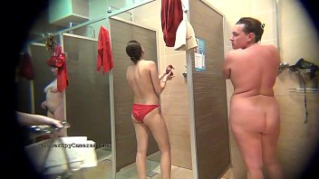 Voyeur compilation with teen and Milf girlfriends nude caught on hidden cameras from ShowerSpyCameras.com