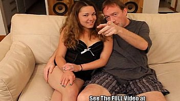 Sexy thin brunette Kara getting some strange from Dirty D