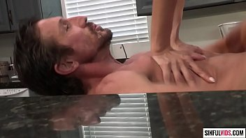 Big titted cougar Alexis Fawx_loves kitchen sex very_much Thumbnail