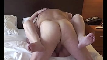 Chubby Mature Milf takes  a big cock deep missionary