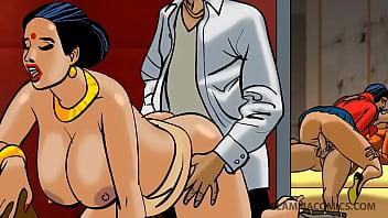 Episode 91 - Velamma series - South Indian Aunty Porn Comics