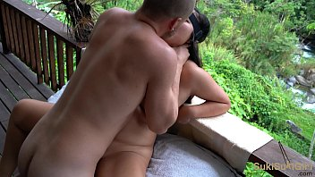 outdoor moans from her pussy being eating @sukisukigirlreal @andregotbars